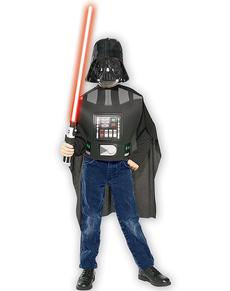 Zestaw kostium Darth Vader deluxe dla chłopca